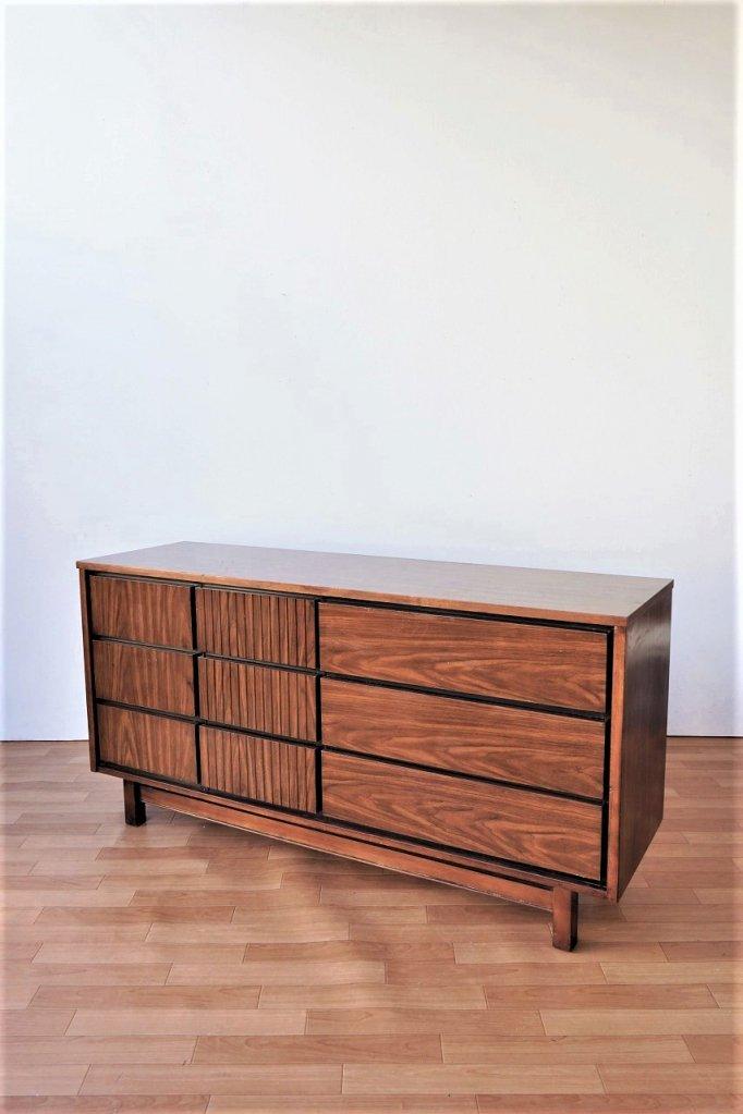1960's ヴィンテージ ウッドサイドボード