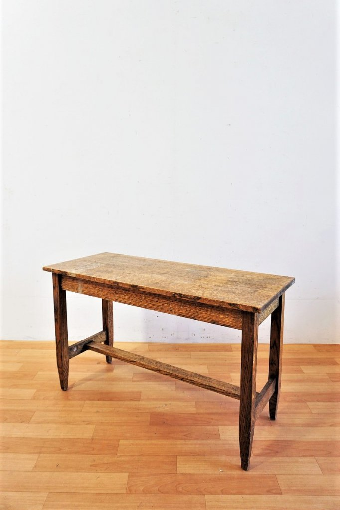 1940-50's ヴィンテージ ウッド コンソールテーブル