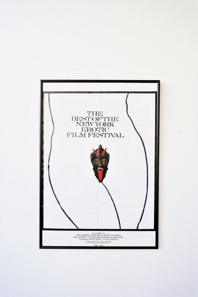 1970's ヴィンテージ 額入りポスター