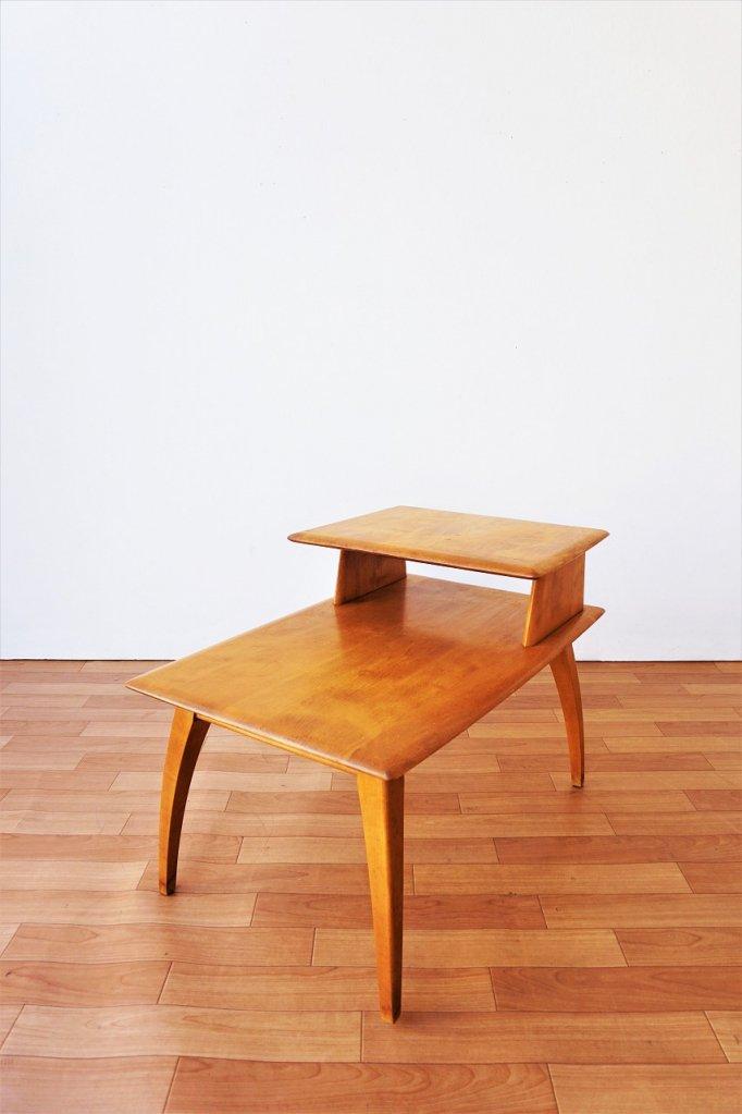 1940-50's Heywood社製 ヴィンテージ ステップエンドテーブル