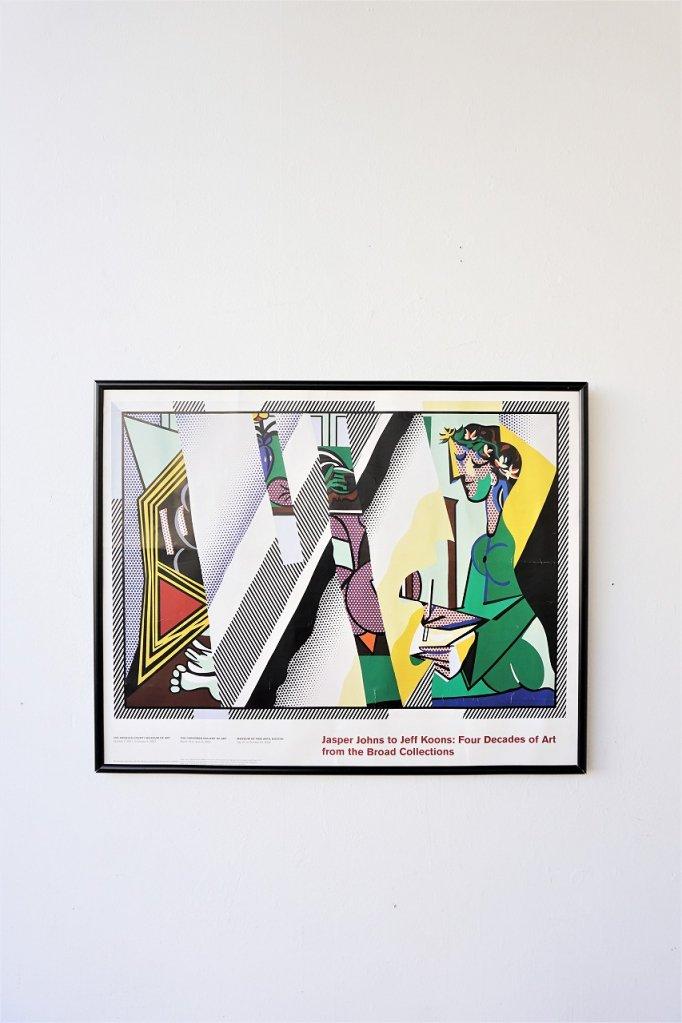 Roy Lichtenstein 額入りポスター