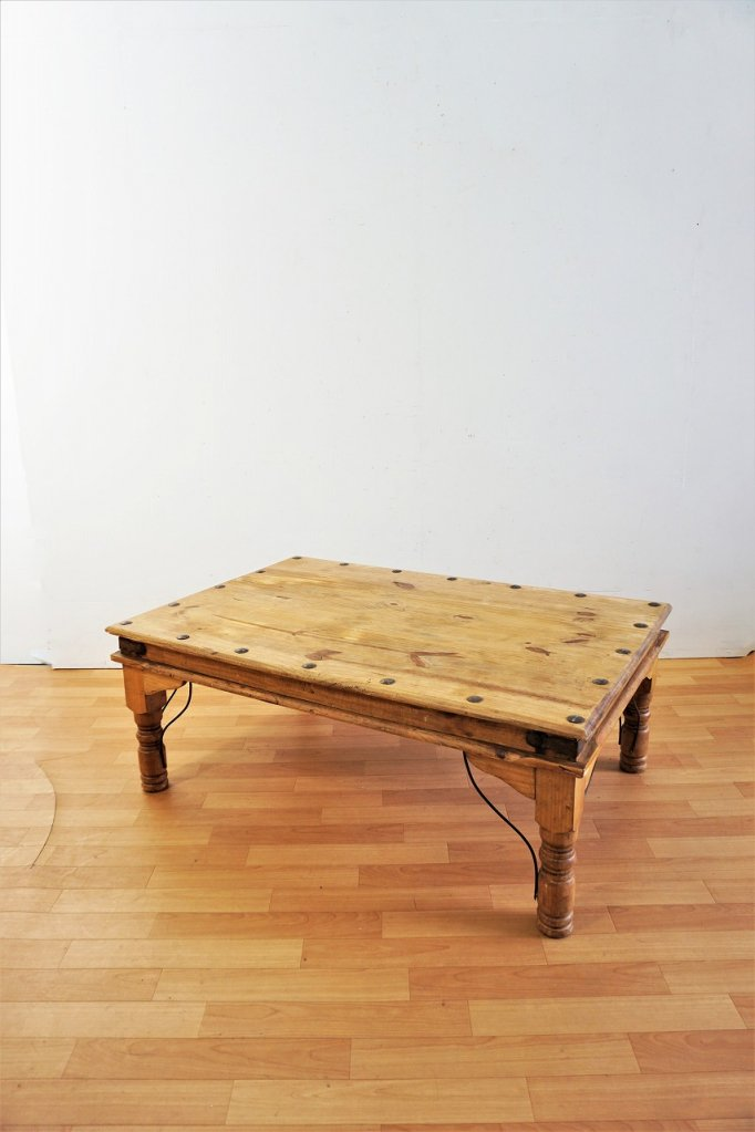 メキシコ製 ヴィンテージ ウッド ローテーブル