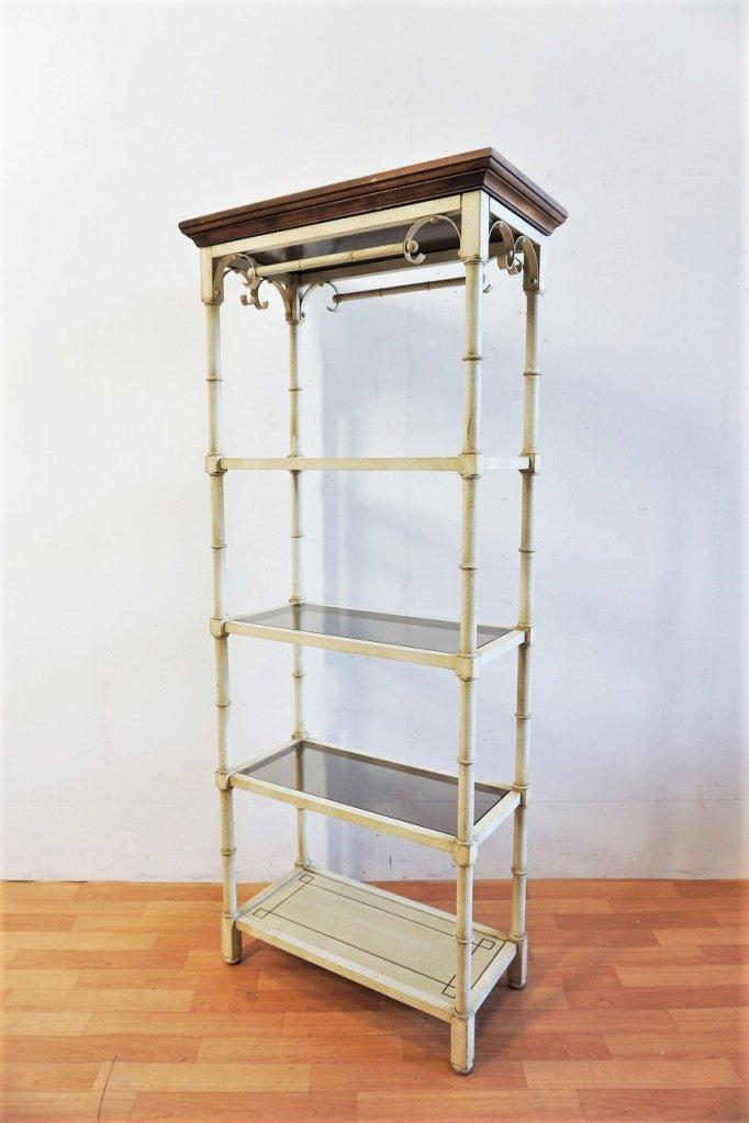 1960-70's ヴィンテージ ガラストップ 4段ラック