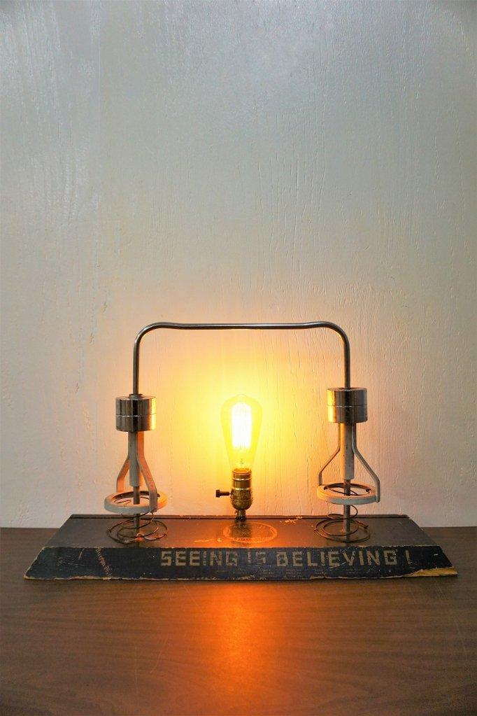 1940-50's ヴィンテージ リメイク テーブルランプ