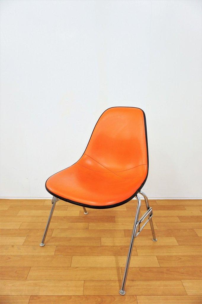 1960-70's ヴィンテージ Herman Miller スタッキングベース サイドシェルチェア(複数在庫有り)