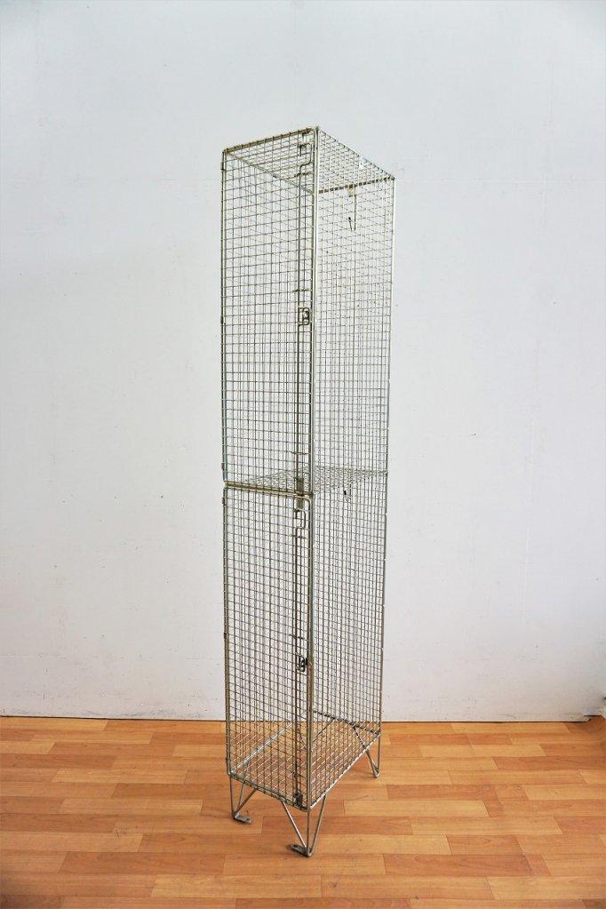 1950-60's ヴィンテ—ジ ワイヤーメッシュロッカー(複数在庫有り)