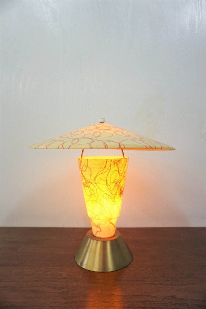 1950's ヴィンテージ ミッドセンチュリー テーブルランプ