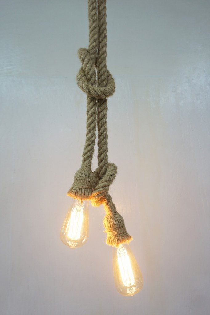 ロープ ハンギングランプ(複数在庫有り)