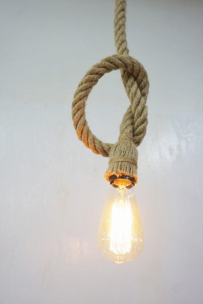 ロープ ハンギングランプ(在庫2点有り)