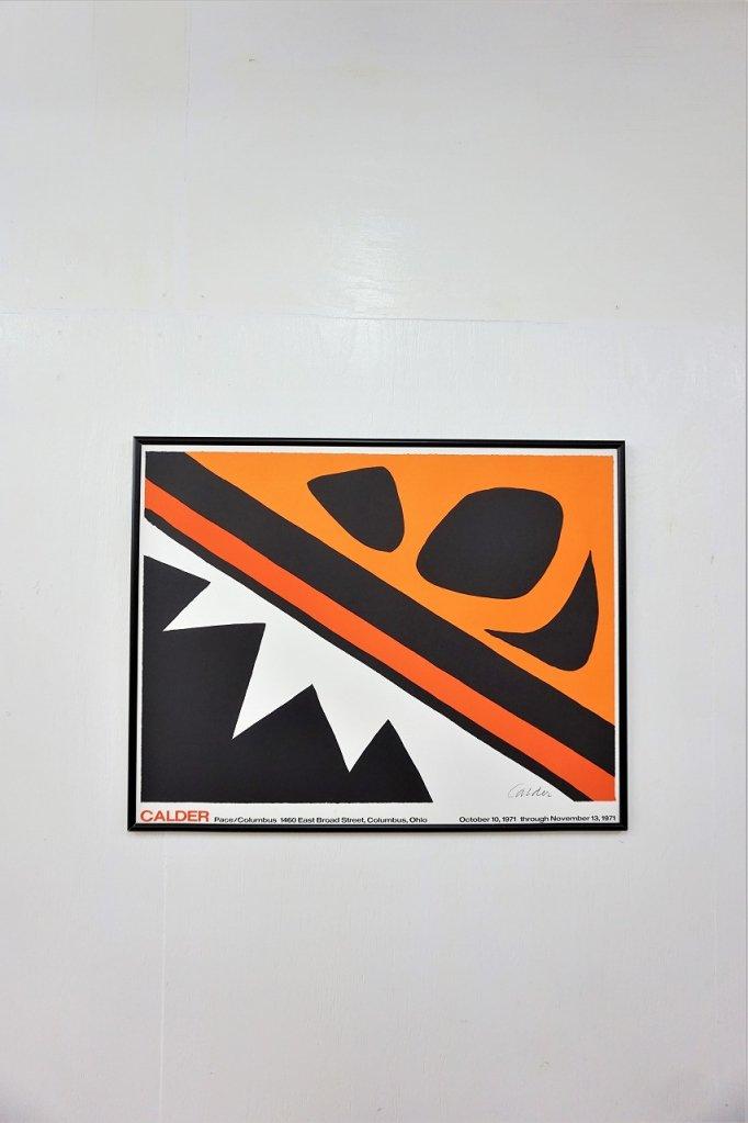 Alexander Calder 額入りポスター