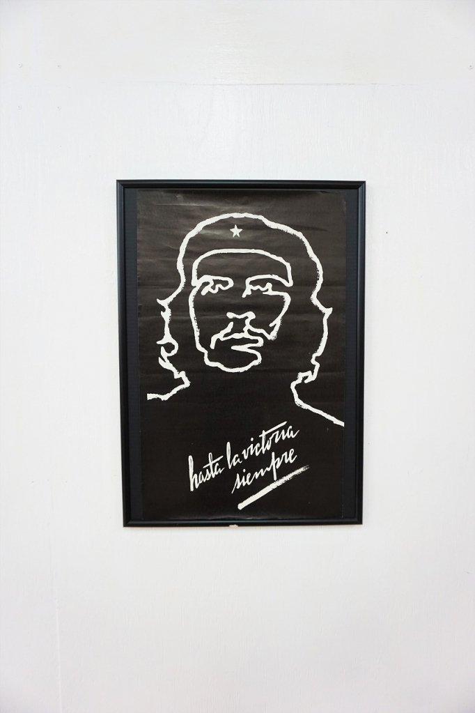 Cue Guevara 額入りポスター