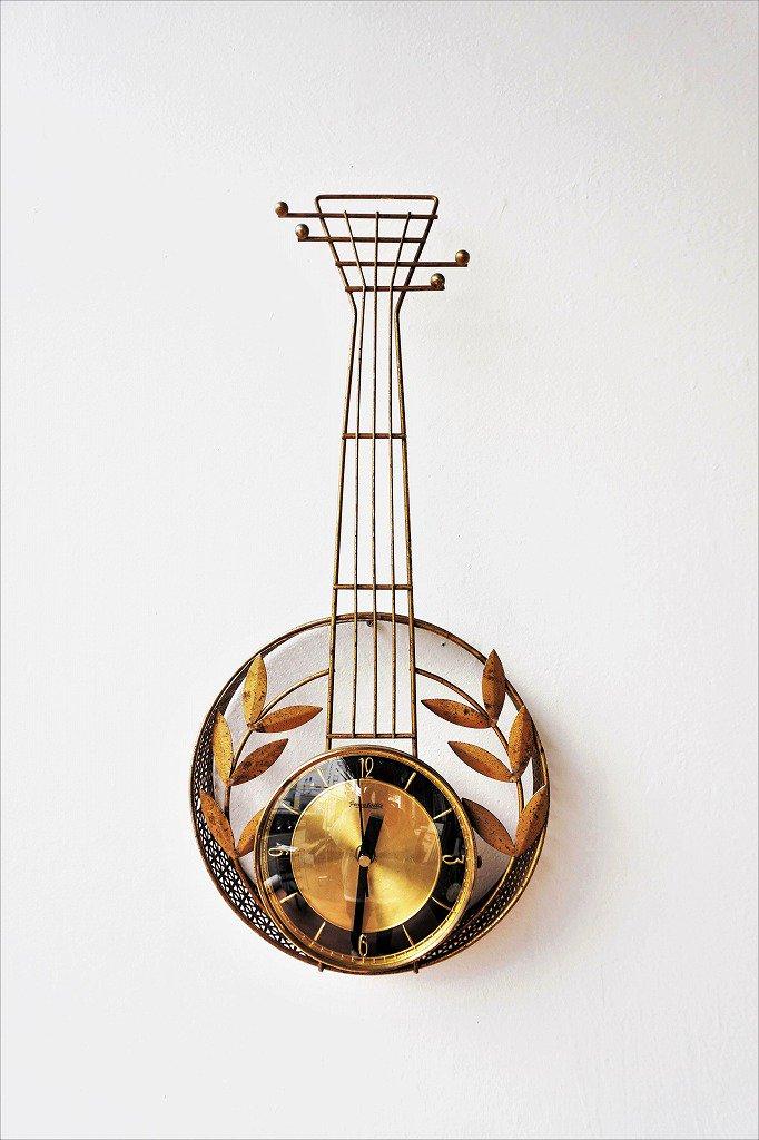 1950-60's Farestuille社製 ヴィンテージ ウォール クロック
