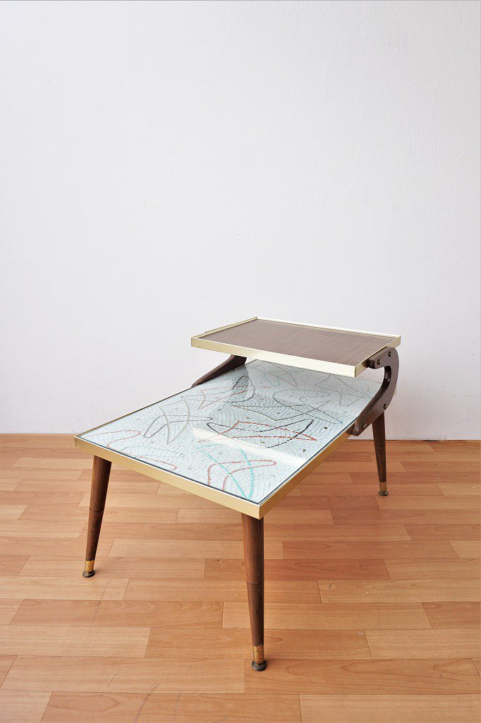 1950's ヴィンテージ ミッドセンチュリー ステップエンドテーブル