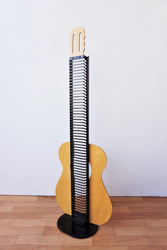 USA製 ギターモチーフ CD ラック