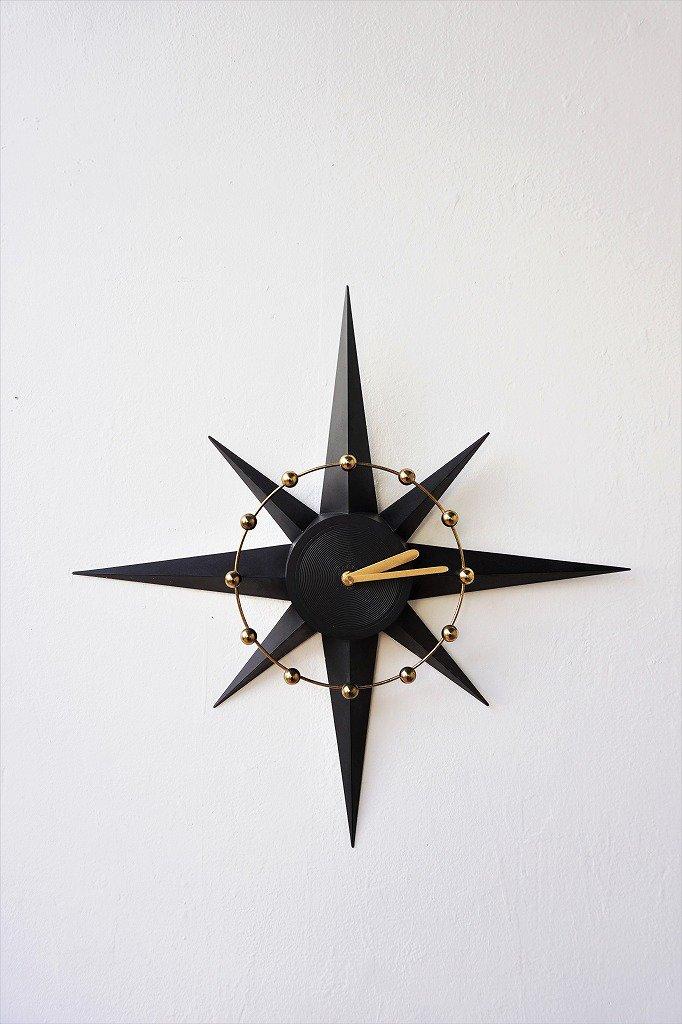 1950-60's SPARTUS社製 ヴィンテージ サンバーストクロック