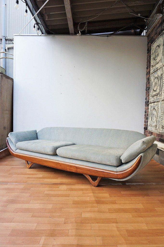 1950-60's Adrian Pearsall デザイン ヴィンテージソファ ※近畿圏内のみの販売/店舗お引き取り販売