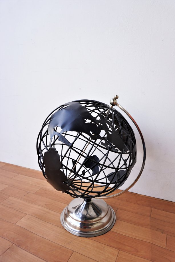 ヴィンテージ アイアン グローブ/地球儀