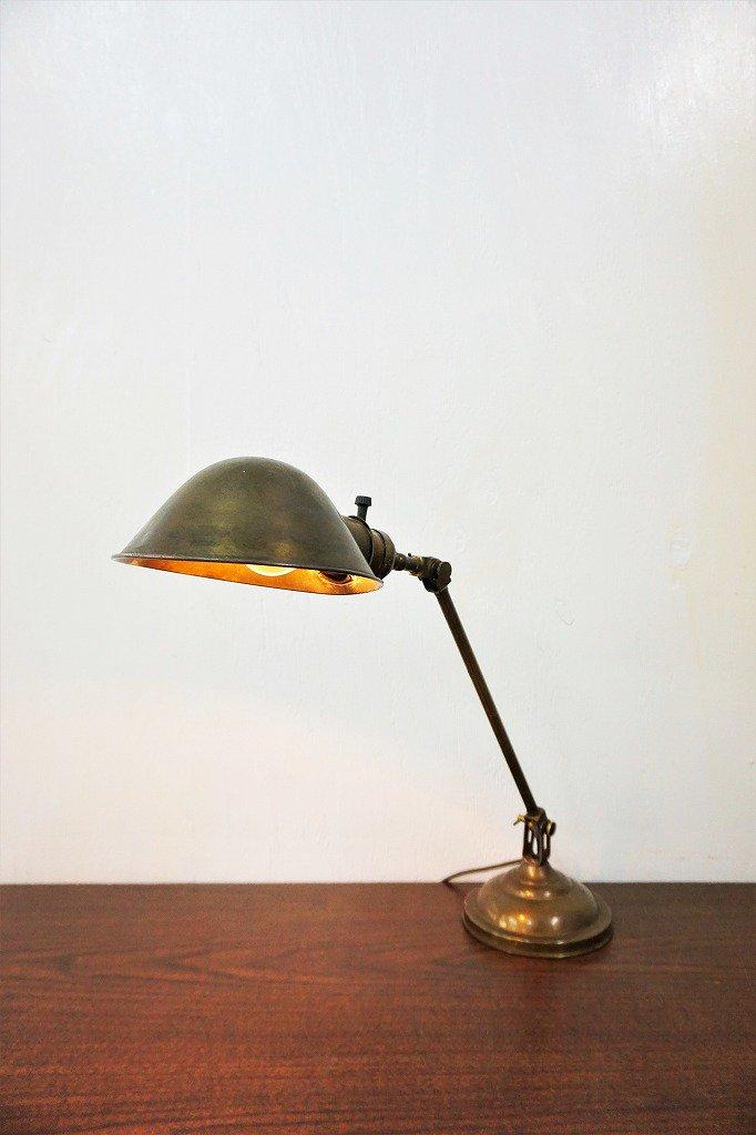 1910-20's FARIES社製 ヴィンテージ デスクランプ