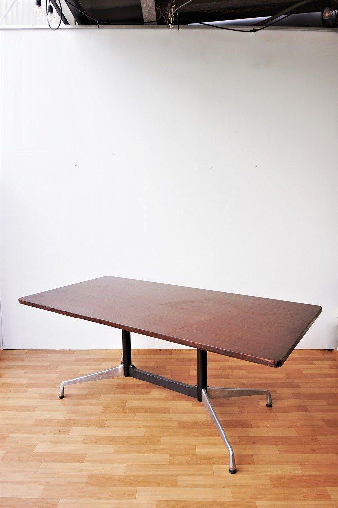 ヴィンテージ Herman Miller社 セグメンテッドベース テーブル(HOLD中)