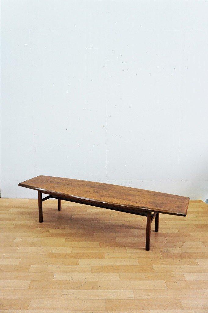 1960's ヴィンテージ ウッド ローテーブル