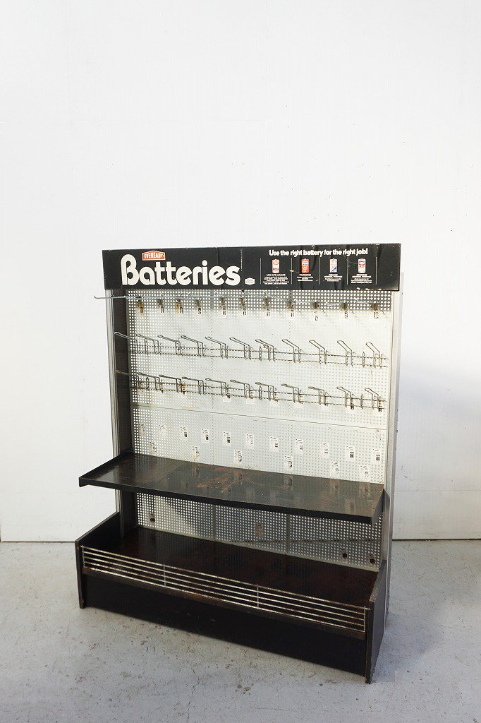 1950's Eveready Battery社製 ヴィンテージ ディスプレイラック