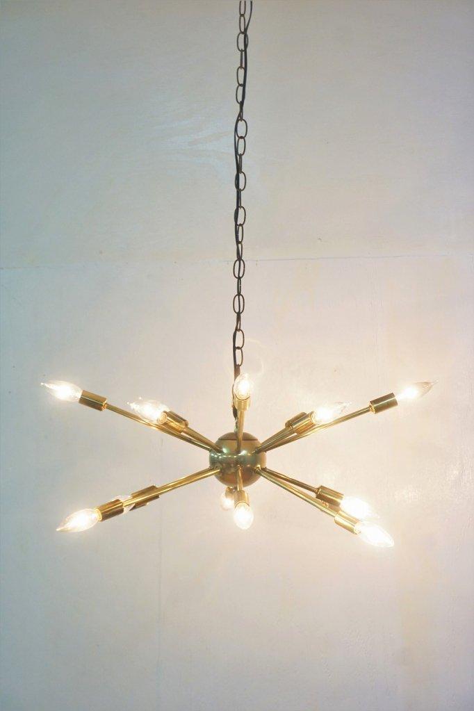 1950's ヴィンテージ 16灯 スプートニク ランプ