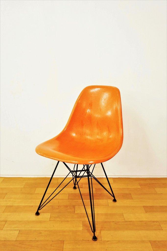 1960-70's Herman Miller社製 イームズ エッフェルベース サイドシェルチェア