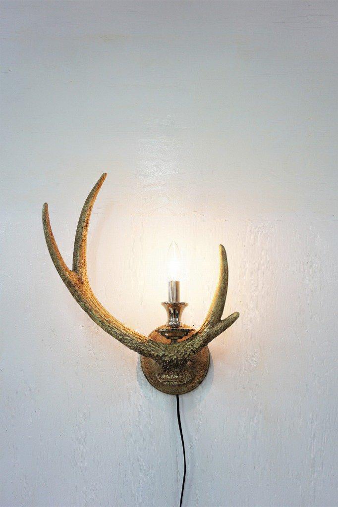 ヴィンテージ アントラーモチーフ ブラケットランプ�