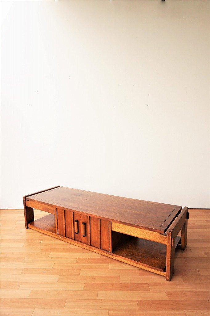 1960's LANE社製 ヴィンテージ ウッド ローボード /