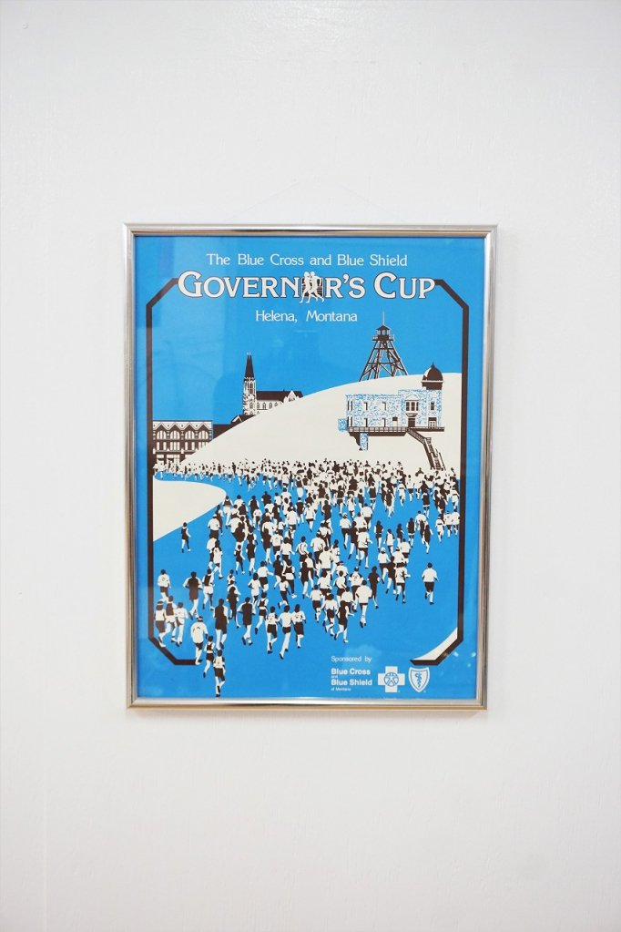 1980's ヴィンテージ Governor's Cup 額入りポスター