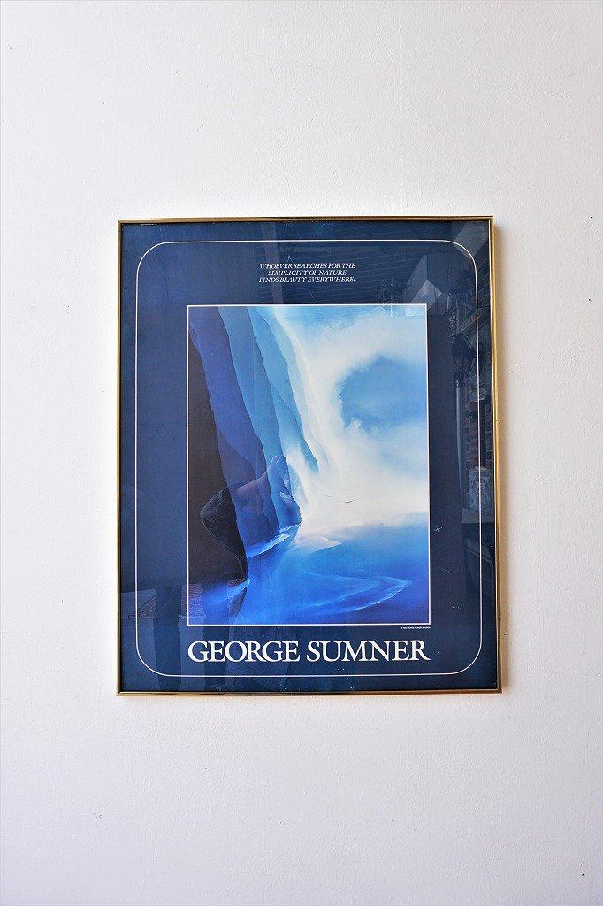 1980's GEORGE SUMNER ヴィンテージ 額入りポスター