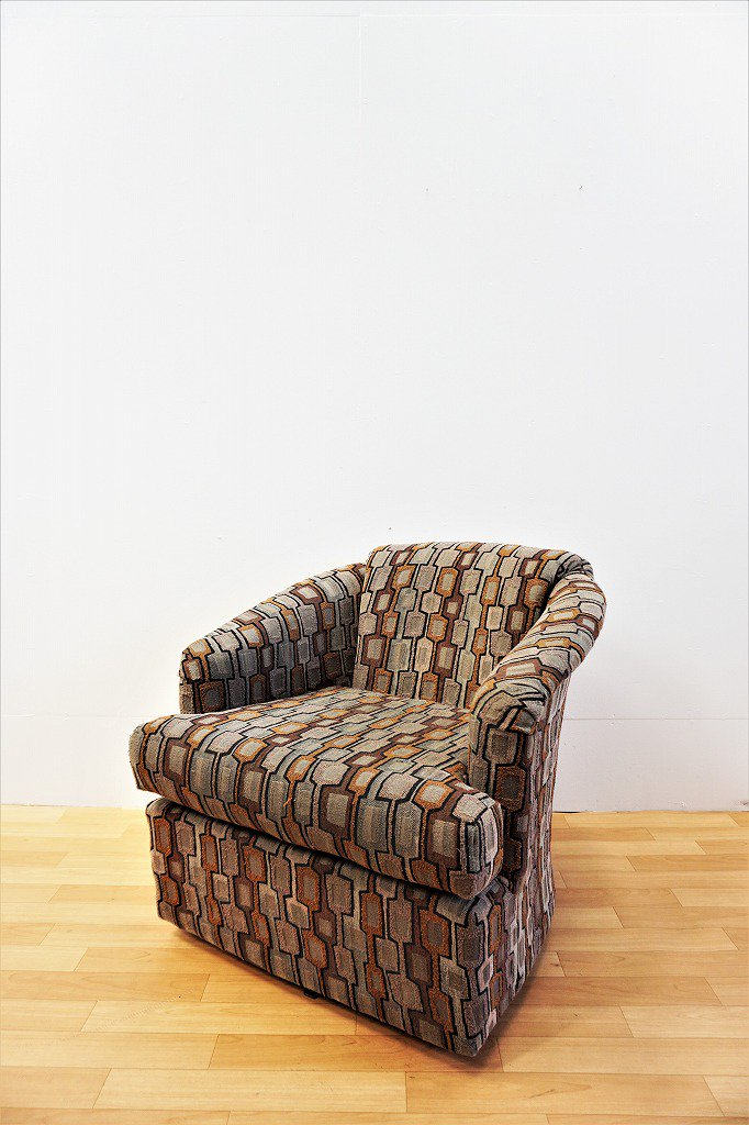 1970-80's ヴィンテージ BEST CHAIRS社製 シングルソファ