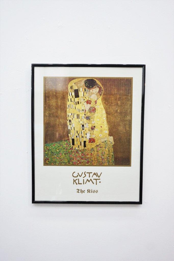 Gustav Klimt 額入り ポスター