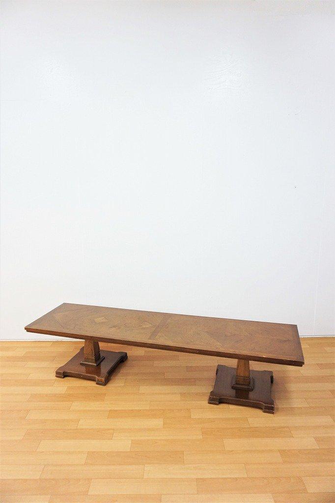 1960-70's ヴィンテージ ウッド ローテーブル