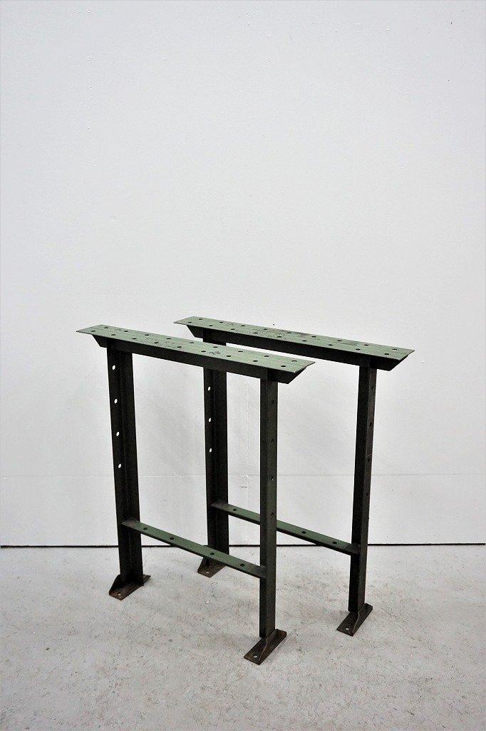 スチール テーブル レッグ ペア