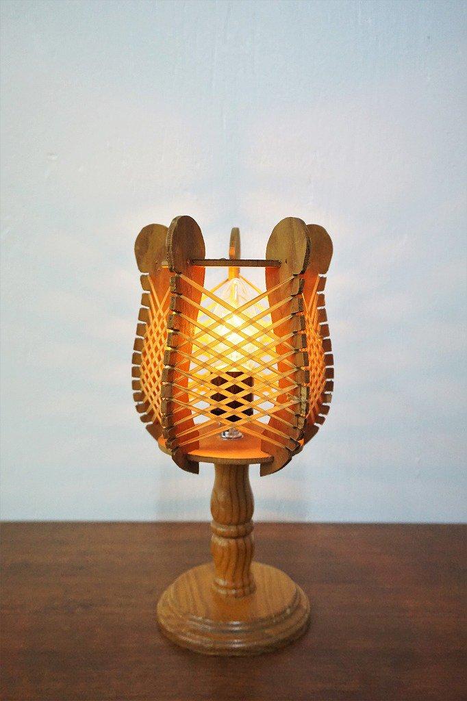 1960-70's ヴィンテージ ストリングス テーブルランプ