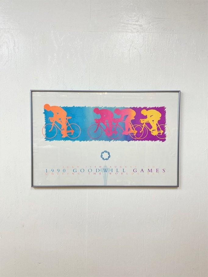 "1990's ""1990 GOODWILL GAMES"" ポスター"