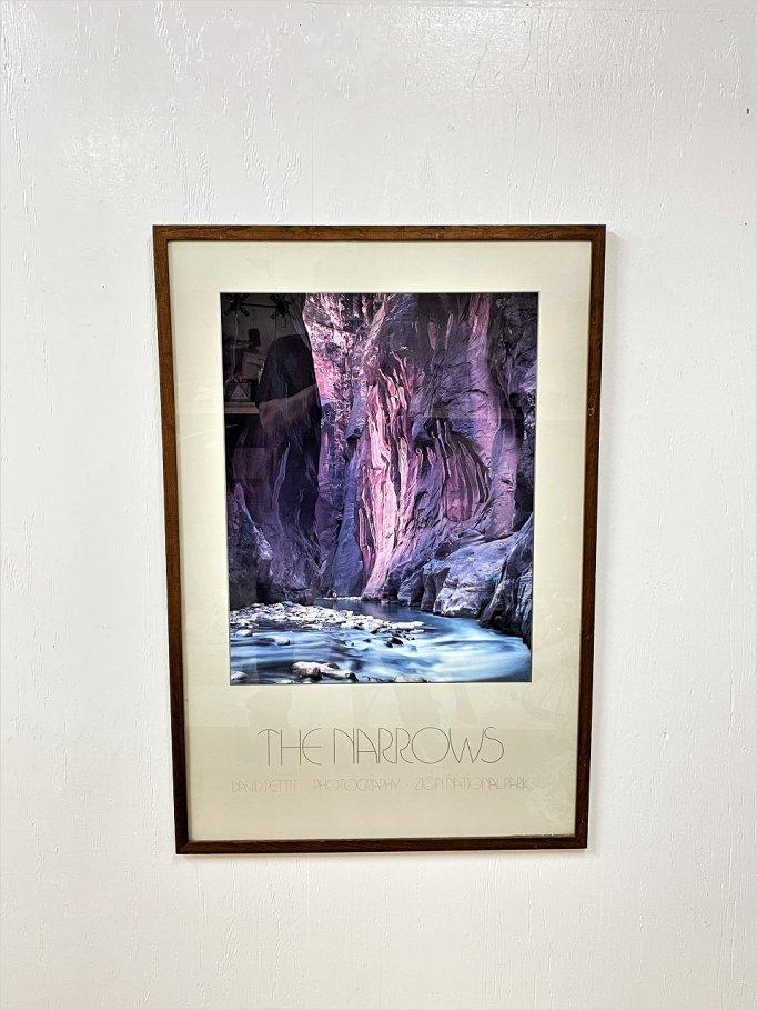 "1990's ""THE NALLOWS"" 額入りポスター"