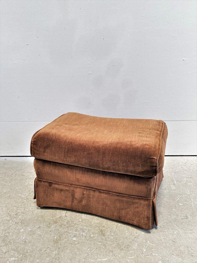 1980's Kay Chair社製 ヴィンテージ ファブリック オットマン