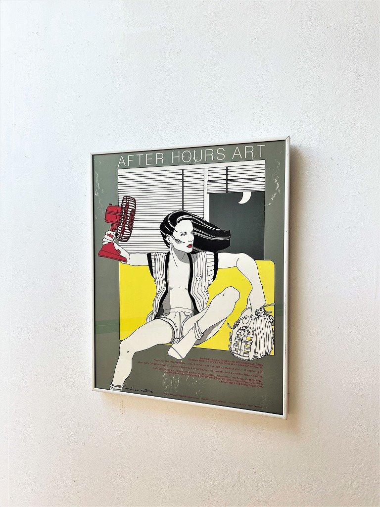 1980's ヴィンテージ アート 額入りポスター