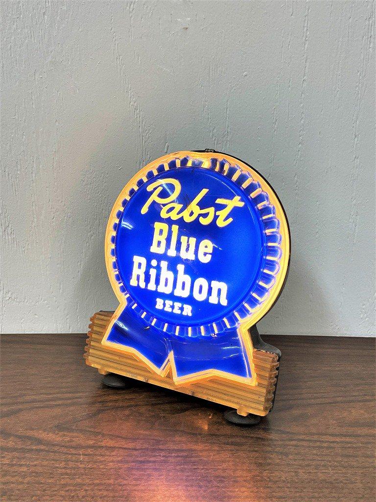1960-70's ヴィンテージ Pabst Blue Ribbon テーブルランプ
