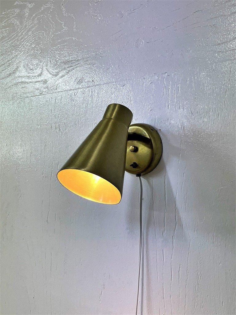 ゴールド ブラケットランプ