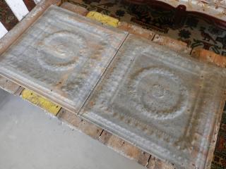 1880〜1940's Ceiling tin panel シーリングティンパネル�