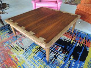 1960's ミッドセンチュリー LANE スクエア ローテーブル