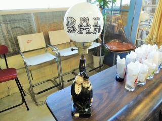 1950's BAR テーブルランプ