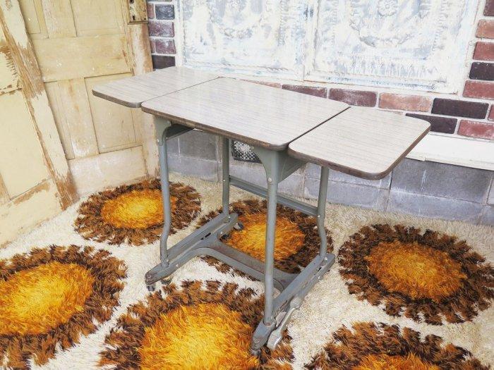 1950-60's  ヴィンテージ バタフライ ワークテーブル