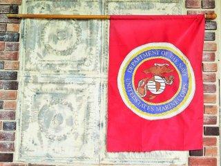 ヴィンテージ USMC マリンコープス フラッグ