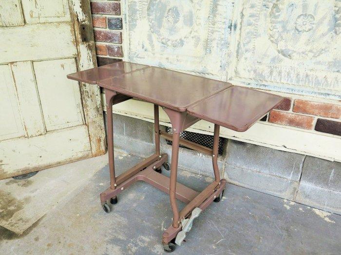 1950-60's ヴィンテージ バタフライ アイアン ワークテーブル