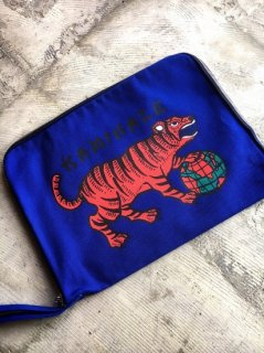 """KAMIKAZE""CLUTCH BAG(BLUE)"