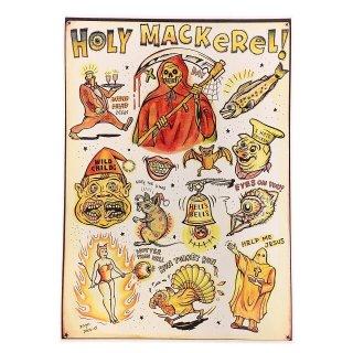 """""""HOLY MACKeReL!""""POSTER(A3)"""